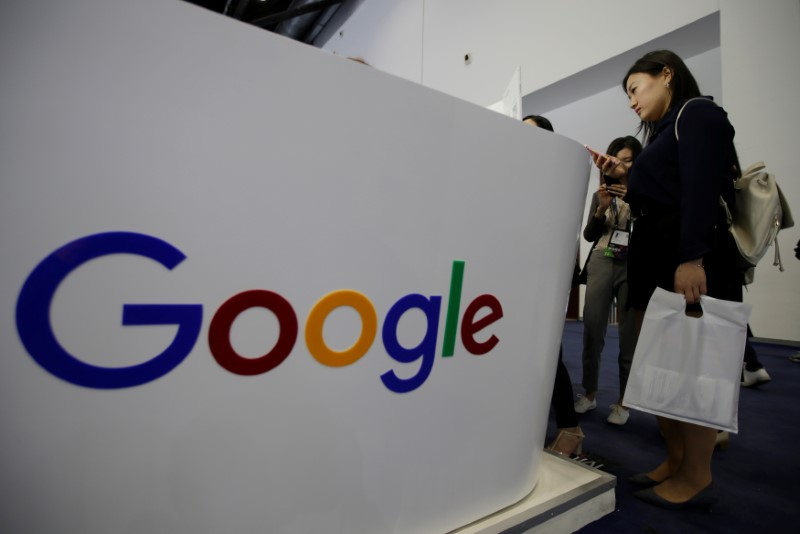© Reuters.  BRIEF-India's Antitrust Body Issues Order Against Google For