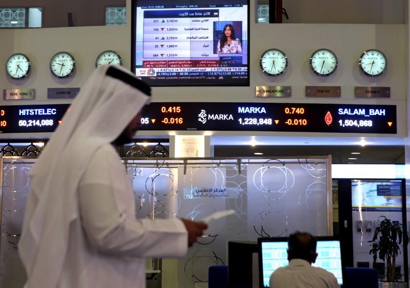 © Reuters.  مؤشرات الأسهم في الامارات العربية المتحدة هبطت عند نهاية جلسة اليوم؛ مؤشر سوق دبي تراجع نحو 0.03%
