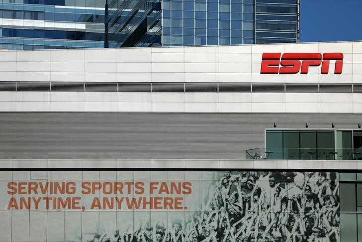 © Reuters.  ESPN testing leverage with Altice - Bloomberg