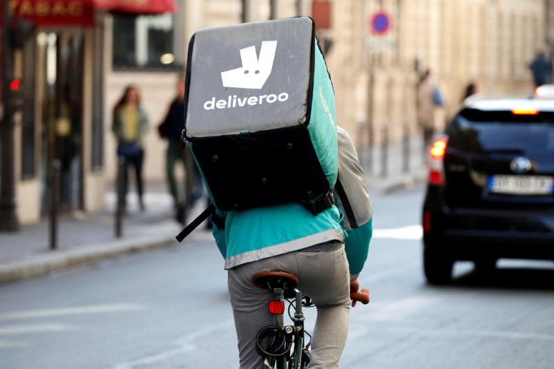 GrubHub Gains as Amazon Closes Its Delivery Service