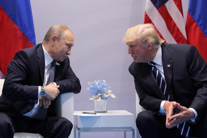 © Reuters.  Trump e Putin podem concordar em retomar conversas sobre controle de armas