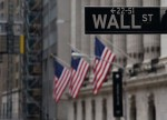 U.S. stocks lower at close of trade; Dow Jones Industrial Average down 2.41%