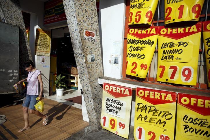 © Reuters.  Inflação para famílias com renda mais baixa fica em 0,01% em junho