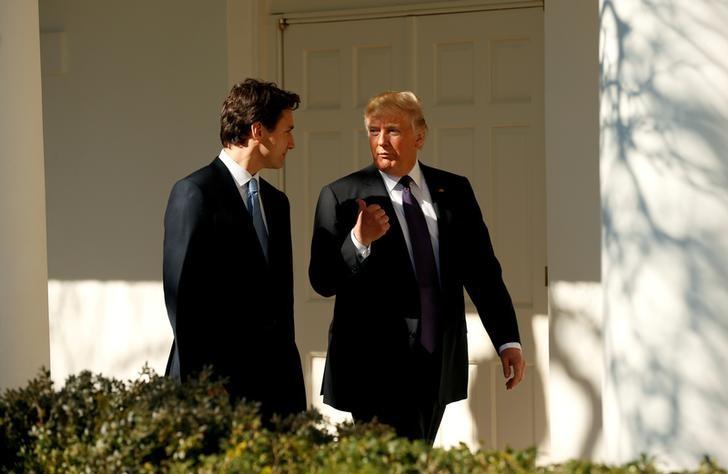 © Reuters.  Acordo de último minuto entre EUA e Canadá anima mercado