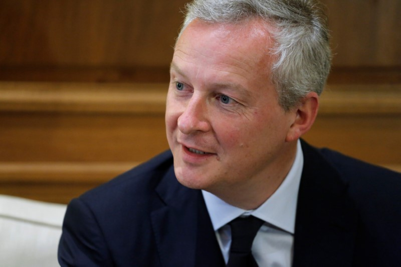 © Reuters.  FrankreichsFinanzminister fordert mehr Tempo bei Eurozonen-Reform