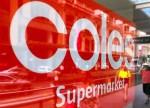UPDATE 2-Australian grocer Coles declares war on costs after H1 profit drop