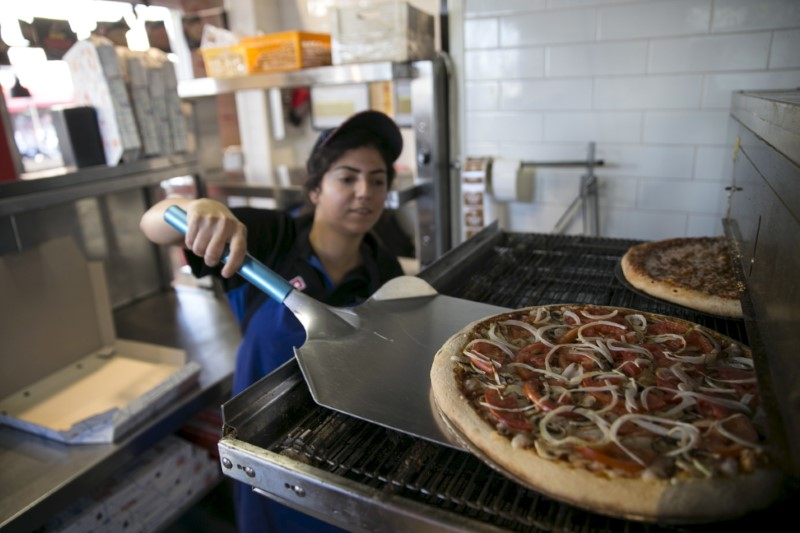 Cold Pizza Stocks After Domino's Comps Struggle