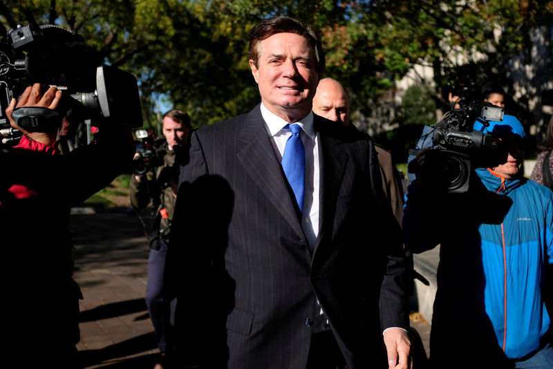© Reuters.  Lawyers for Manafort co-defendant Gates seek to withdraw over rift: filing