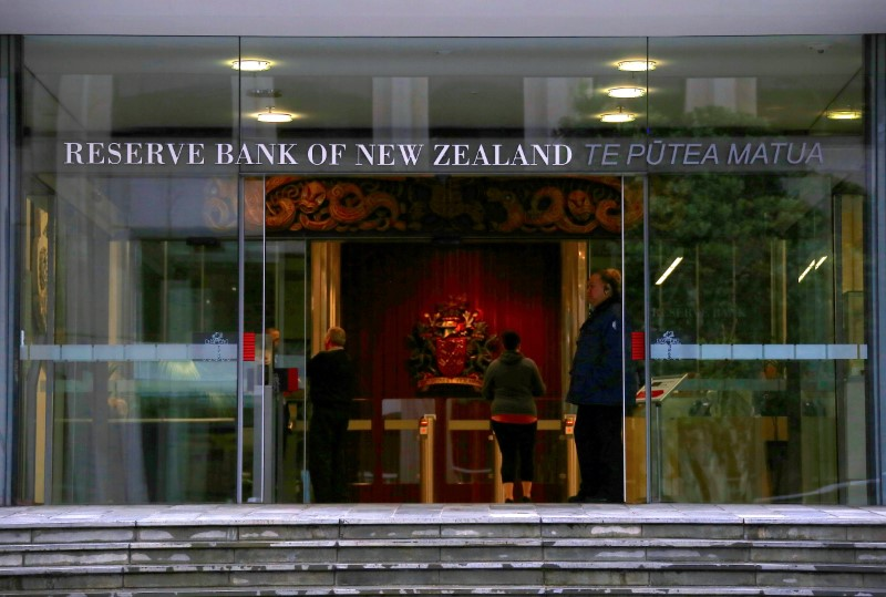 © Reuters.  RBNZ Brings Forward Rate-Hike Forecast on Faster Inflation