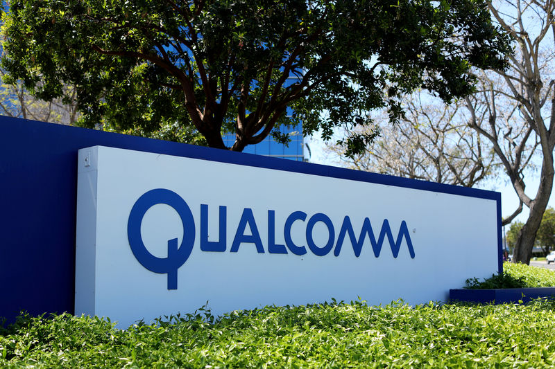© Reuters. Qualcomm Earnings, Revenue Beat in Q1