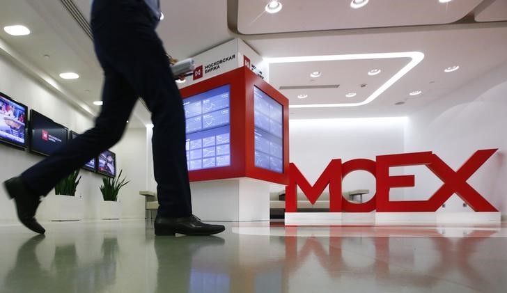 © Reuters.  Russia stocks higher at close of trade; MOEX Russia up 0.17%