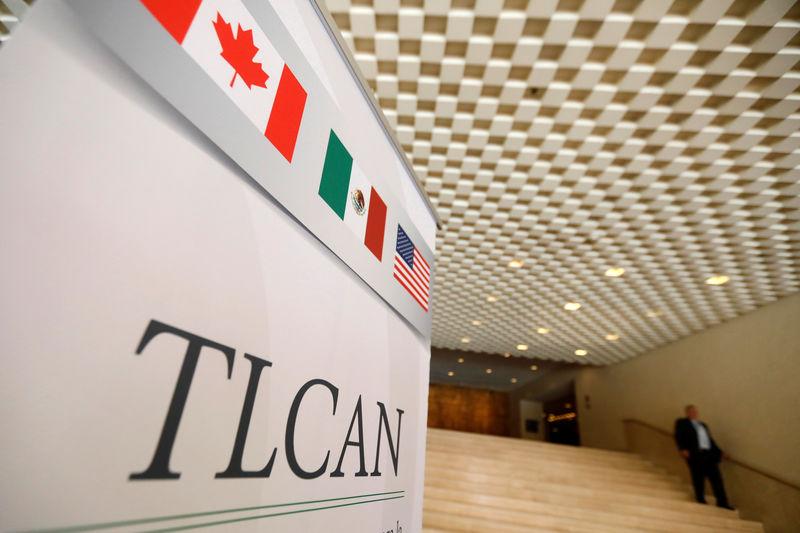 © Reuters.  EEUU presiona por acuerdo sobre TLCAN antes de plazo límite del jueves