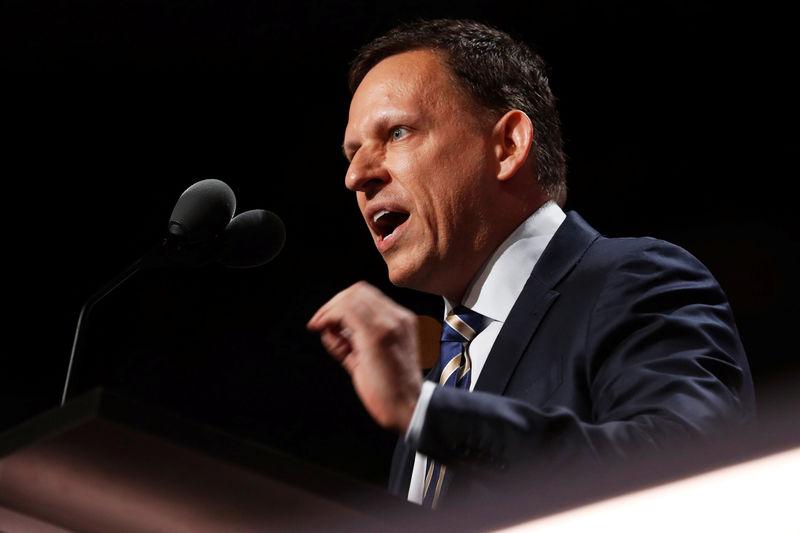 Thiel ataca a las tecnológicas y advierte sobre el tándem China-Bitcoin