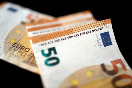 เงินยูโรร่วงลงสู่ระดับต่ำสุดในรอบวัน หลังจากข้อมูลระบุว่าอัตราเงินเฟ้อในยูโรโซนร่วงลงเมื่อเดือนที่แล้ว