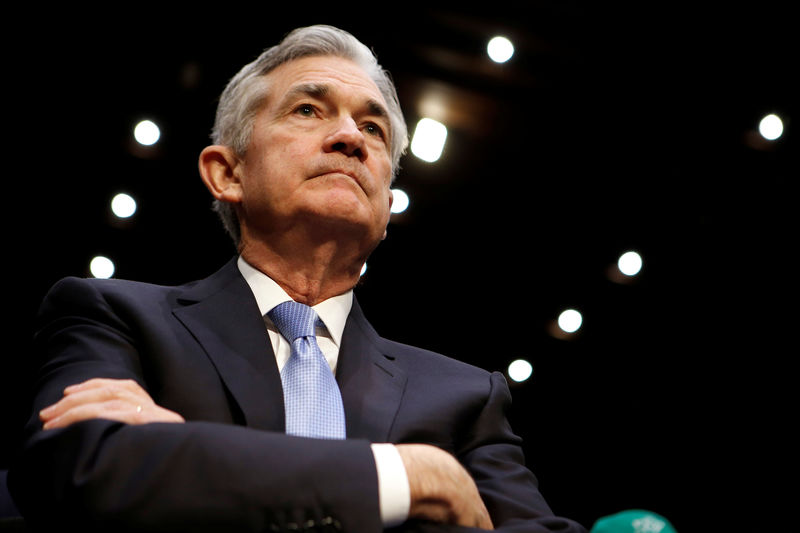 © Reuters.  Jerome Powell, presidente de la Fed