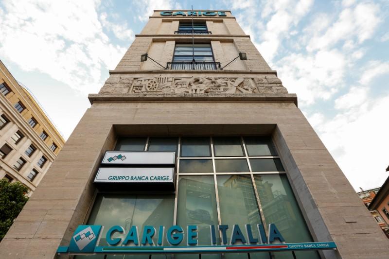 © Reuters.  Banca Carige, lascia consigliere Pezzolo, dimissioni salgono a sette