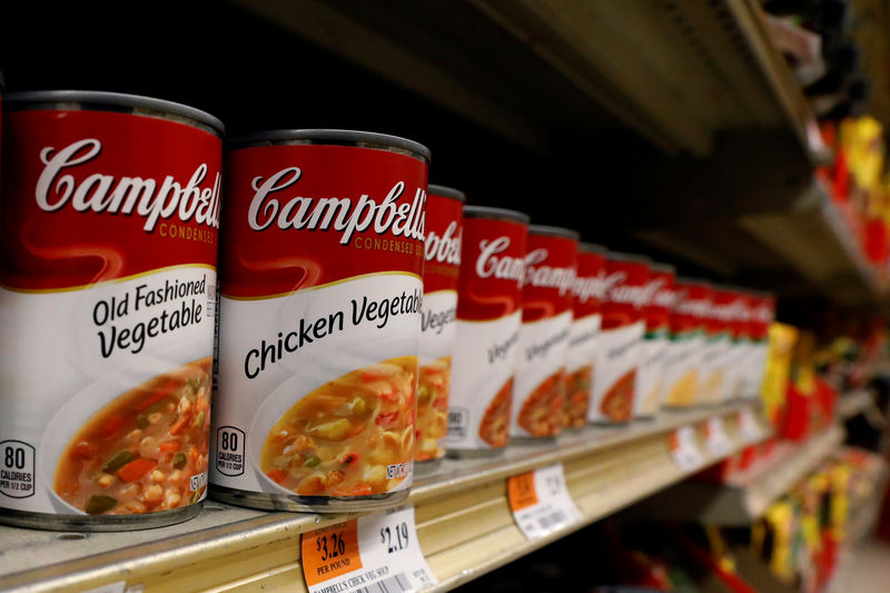 © Reuters.  What Campbell's Soup Tells Us About the U.S. Economy: Conor Sen