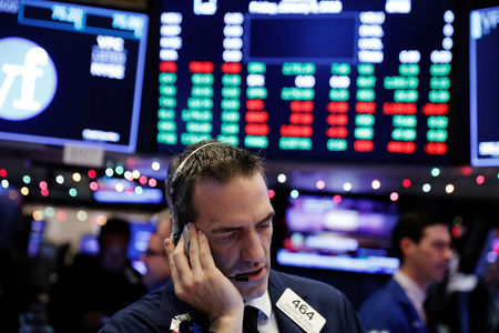 Dow Slumps as Record Surge in Infection Triggers Bloodbath