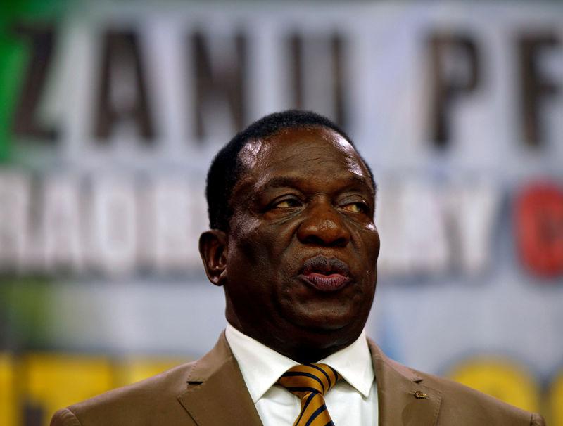 Update 2-Zimbabwe's Mnangagwa talks up currency reform but business wa