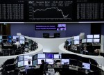 World stocks ride out oil rout as focus turns to Fed