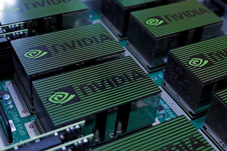 © Reuters. NVIDIA Stock Rises 6%