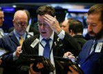 Stocks - Dow Slumps as Investors Flee Risk on Fed Fears