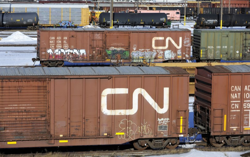 Canadian government says it is monitoring the CN Rail strike closely B