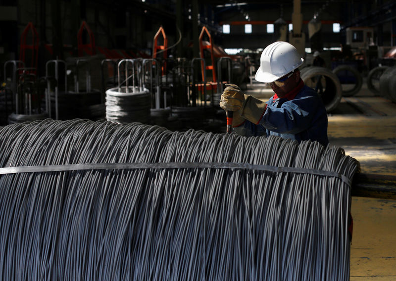 China Iron ore Futures hit near 8-month High as Stockpiles Fall