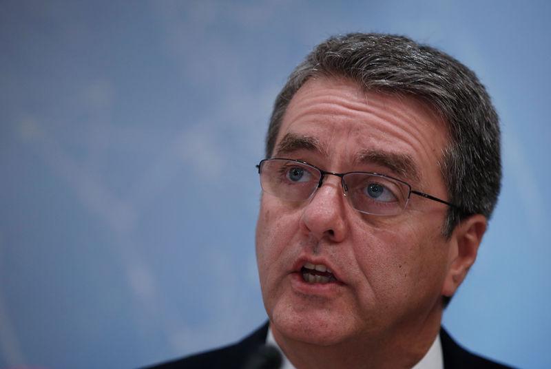 © Reuters.  Diretor-geral da OMC alerta para recorde de disputas comerciais