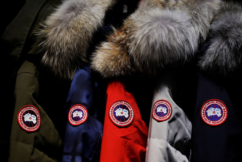canada goose holdings inc. subordinate voting shares