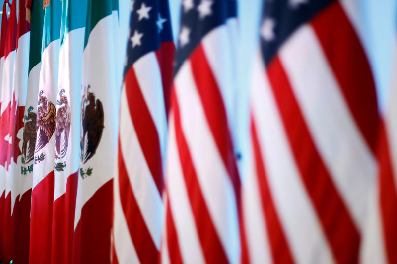 © Reuters.  UPDATE 5-U.S. pushing for NAFTA deal as Thursday deadline approaches