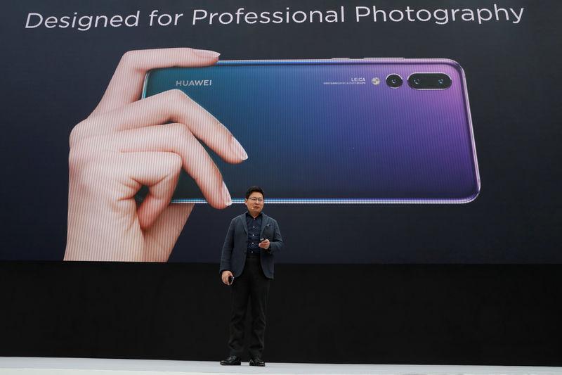 US STOCKS SNAPSHOT-Wall Street slides as Huawei fallout slams tech stocks