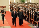 In Xi Talks, Kim Calls for Step-by-Step Denuclearization Process