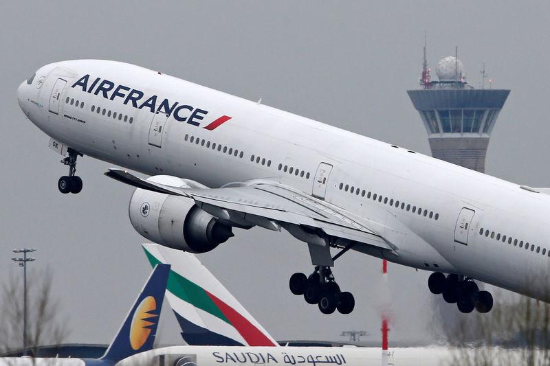 © Reuters.  Air France-KLM promove diretor financeiro a CEO interino após impasse com sindicato
