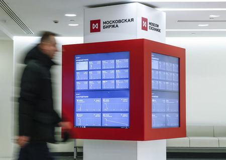 مؤشرات الأسهم في روسيا ارتفعت عند نهاية جلسة اليوم؛ مؤشر بورصة موسكو صعد نحو 0.63%