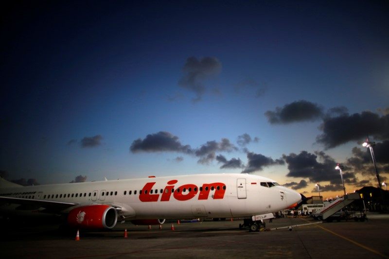 © Reuters.  Lion Air 'urgently requires' more 737 MAX jets to support growth: co-founder