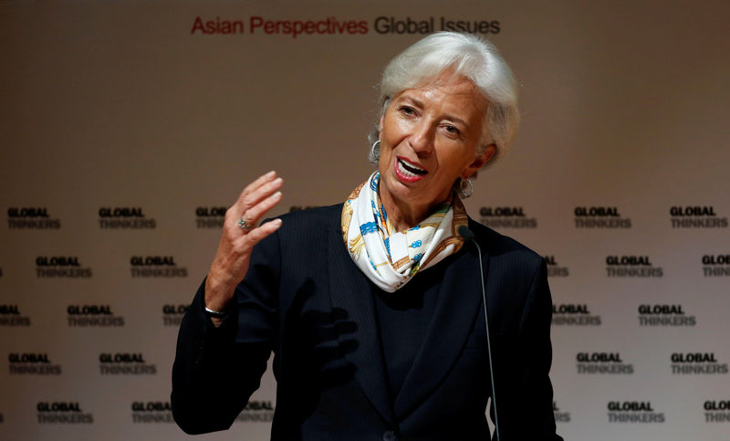 © Reuters.  Lagarde Starts Term at ECB Awaiting Female Reinforcement