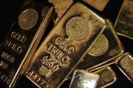 Goldfutures sinken während der U.S. Session