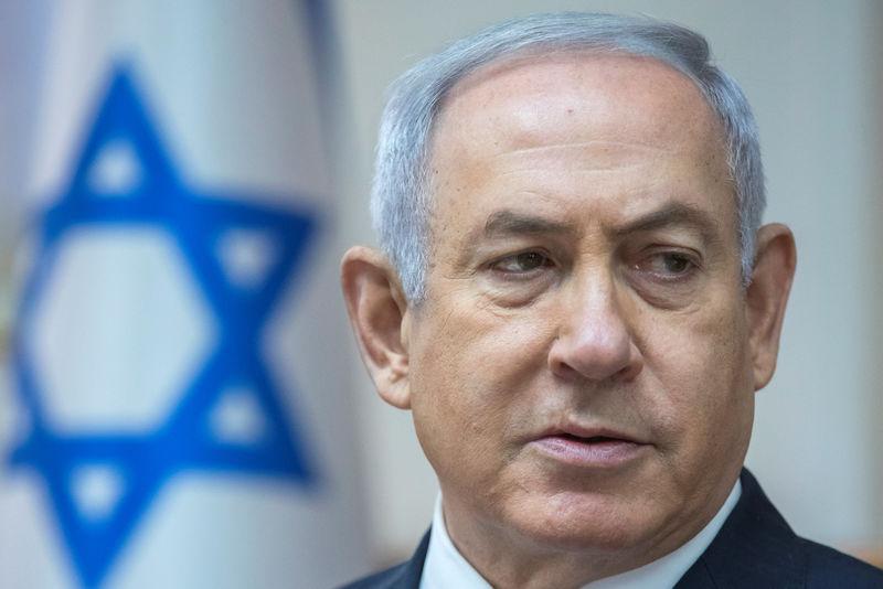 © Reuters.  Israel derruba drone da Síria, e Netanyahu encontra Putin