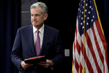 Dow Futures Fall 80 Points Ahead of Powell Speech