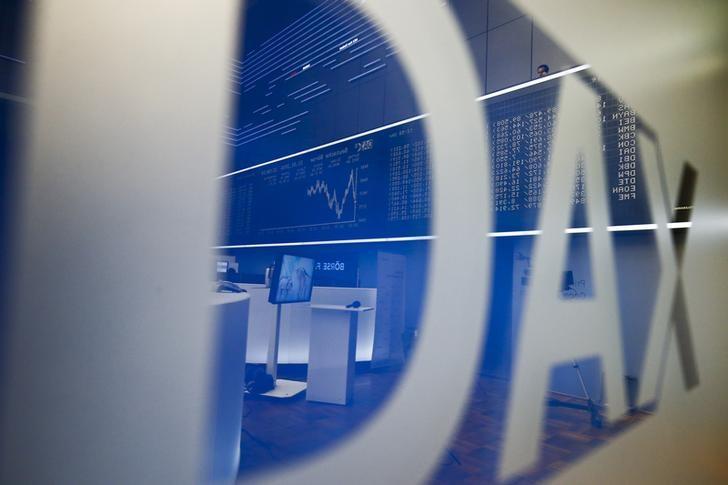 © Reuters.  Allemagne: Les marchés actions finissent en ordre dispersé; l'indice DAX recule de 0,09%