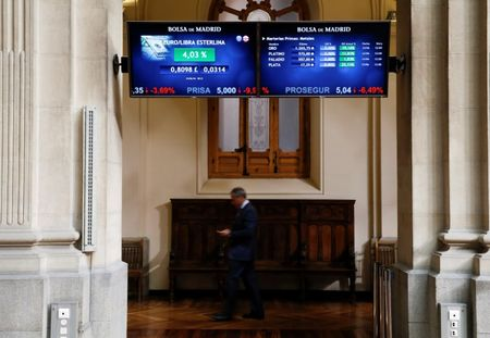 Spain stocks higher at close of trade; IBEX 35 up 1.69%