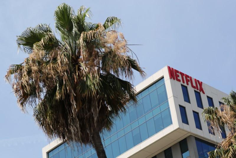 Netflix Rises 3.01%