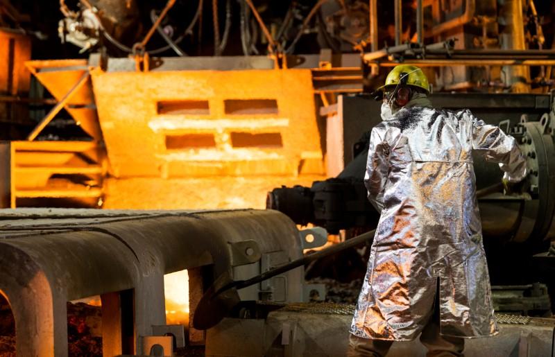 Produção de laminados da Usiminas cresce 19% no ano até 20 de março