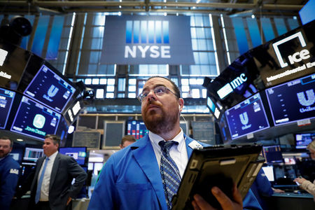 Stocks - Dow Falls as Dire Economic Data Weigh on Sentiment