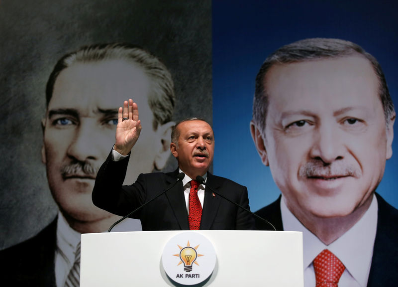 © Reuters.  Erdogan's Hope for'New Page' in U.S. Ties Tested by Russian Arms