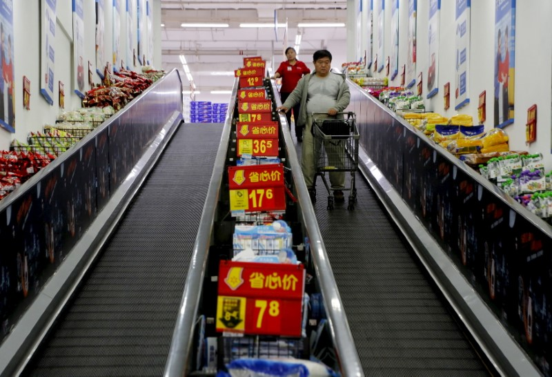 China's Consumer Prices Decline for First Time Since 2009