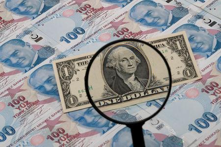 تراجع الليرة التركية بعد تحركات أمريكية بشأن التجارة