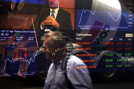 مؤشرات الأسهم في أستراليا ارتفعت عند نهاية جلسة اليوم؛ إيه إس إكس 200 صعد نحو 0.04%