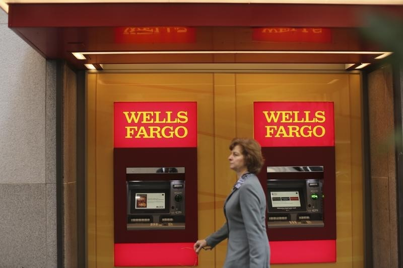 © Reuters.  Wells Fargo reports Q4 diluted EPS of $1.16